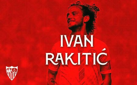 Así ha a anunciado el Sevilla el fichaje de Rakitic.
