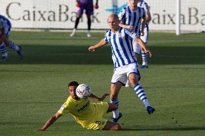 2-0. El Villarreal supera a una Real con muchas bajas