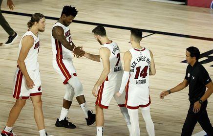 116-114. Butler vuelve a sentenciar y Heat se ponen 2-0 sobre Bucks