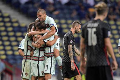 4-1. Portugal arrolla a Croacia sin Cristiano
