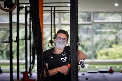 El debate de las mascarillas adquiere músculo en el gimnasio