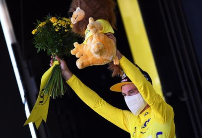 """Roglic: """"Con el maillot amarillo no te puedes dormir"""""""