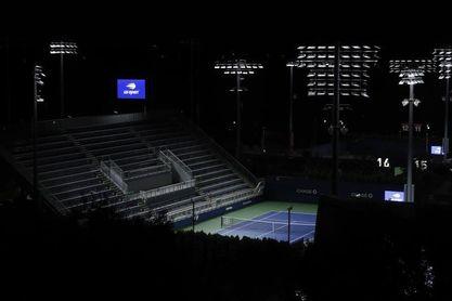 El insólito ambiente del US Open: mapaches en las gradas y aplausos enlatados