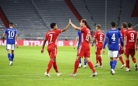 El Bayern prepara la Supercopa endosando un 8-0 al Schalke en el inicio de la Bundesliga