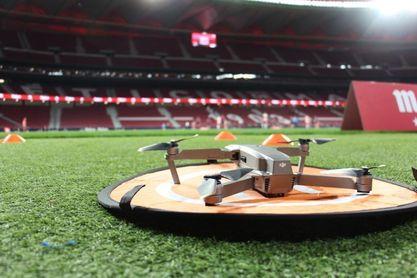 La grabación de fútbol con drones de Fly-Fut llega a LaLiga con el Valladolid