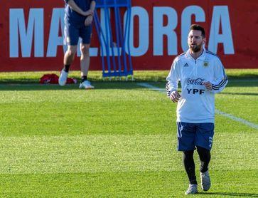 Messi encabeza la lista previa de 30 argentinos para el comienzo de las eliminatorias