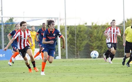 Sevilla FC-Athletic (2-1 y 0-1): Cara y cruz en un doble test con probaturas