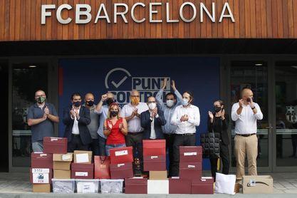 El recuento del FC Barcelona suma 20.687 firmas de la moción contra Bartomeu