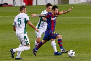 1-0. Griezmann decide para un Barça de menos a más
