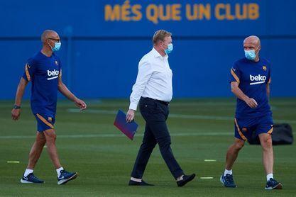 Koeman deja fuera a Suárez, Vidal y Riqui Puig en la convocatoria del Gamper