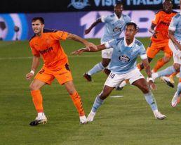 2-1. Aspas lidera con dos goles la victoria del Celta
