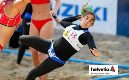 Los Europeos de balonmano playa 2021, en Bulgaria.