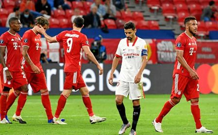 Es la tercera final de la Supercopa que el Sevilla pierde en la prórroga.