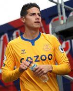 El Everton de James sigue en estado de gracia y suma tres triunfos de tres