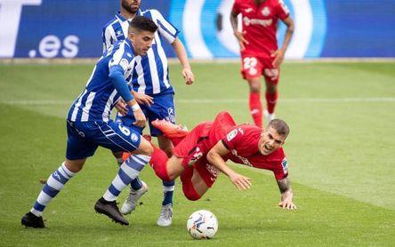 0-0. Alavés y Getafe no pasan del empate en un choque muy abierto