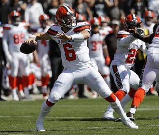 34-20. Mayfield y Chubb lideran ataque ganador de Browns