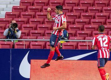 El mejor debut de Suárez, el tercer mejor estreno del Atlético