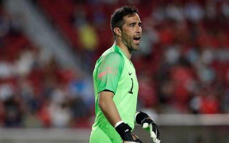 Chile confirma su temor por Claudio Bravo