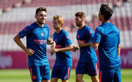 El Sevilla ya prepara los duelos ante Levante y Barça