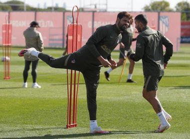 El Atlético afina la puntería con los que fueron suplentes en Huesca