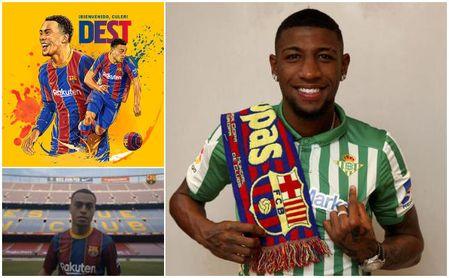 Se acabó el 'caso Emerson': el Barcelona anuncia a Sergiño Dest y el Betis respira