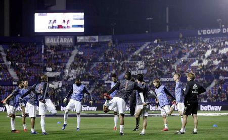El Levante logró su segundo triunfo local ante el Madrid en última visita