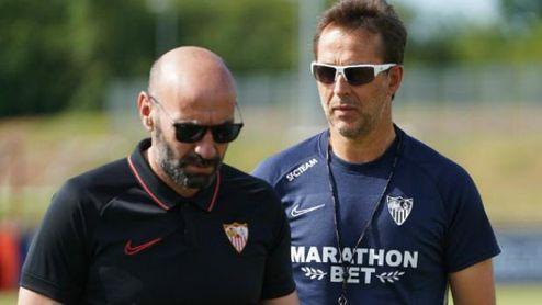 """Monchi analiza el sorteo y los rivales del Sevilla: """"Es un grupo equilibrado""""."""