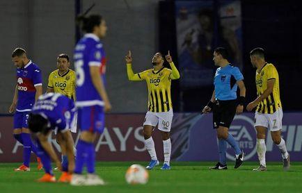 1-3. Guaraní aclara las cosas en el Grupo B al sumarse a Palmeiras en octavos