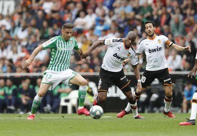 Valencia - Betis: horario, televisión y donde verlo online