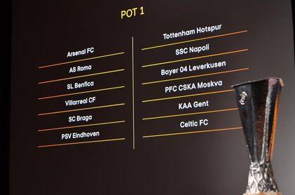 La Real Sociedad en el grupo F ante Nápoles, AZ Alkmaar y Rijeka