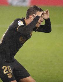"""Sergi Roberto: """"El equipo ha dado la cara"""""""