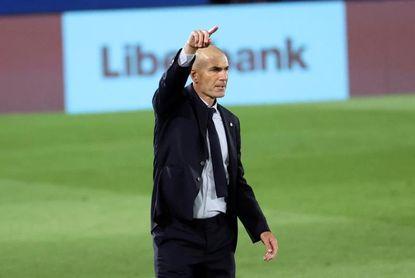 """Zidane: """"Tengo una plantilla con mucho talento y muchísimo corazón"""""""
