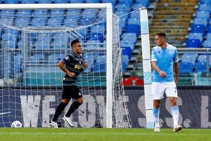 Al Inter no le basta un gol de Lautaro para ganar al Lazio (1-1)