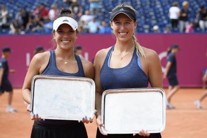 La chilena Alexa Guarachi, a semifinales en el cuadro de dobles