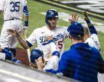 6-5. Kershaw y los Dodgers se ponen a una victoria de la serie de Liga