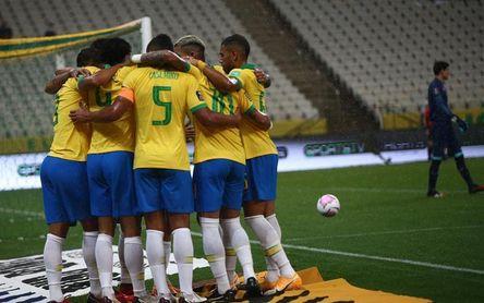5-0. Brasil endosa una manita a Bolivia y ya comanda las eliminatorias