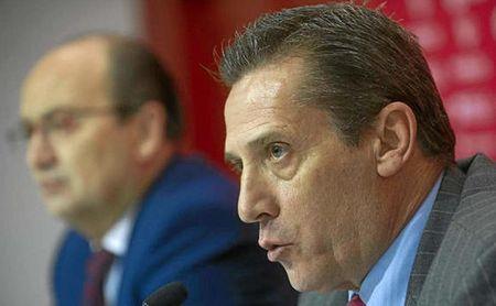José María Cruz, director general del Sevilla FC.