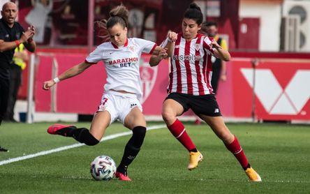 Sevilla FC 0-2 Athletic: Lucía García despierta primero