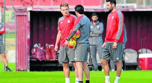Immobile recuerda su etapa en el Sevilla marcada por Emery.