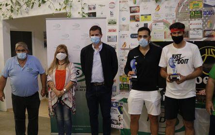 Lora de Estepa corona a Rabaneda y Ruiz campeones andaluces de pádel para sordos
