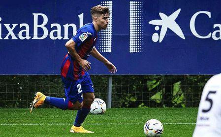 Las primeras sensaciones del sevillano Pozo como futbolista del Eibar