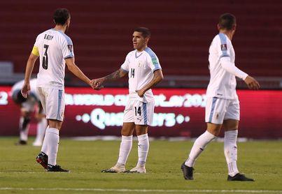Uruguay, con las alarmas encendidas tras una dura goleada