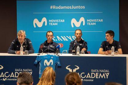 Movistar con Valverde, Mas y Soler presenta equipo de gala para la Vuelta