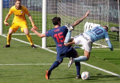 0-2. Luis Suárez relanza al Atlético