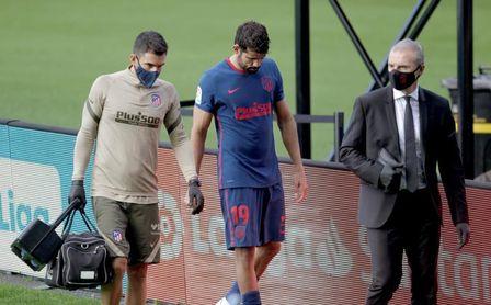 Diego Costa fue sustituido por molestias musculares y es duda para Múnich