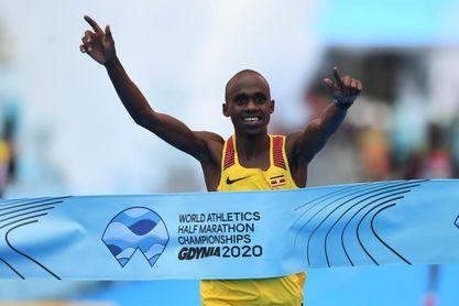 El ugandés Kiplimo, campeón del mundo de medio maratón