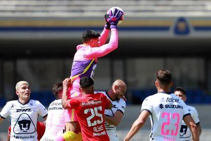 1-0. Pumas UNAM derrota a Toluca y desbanca del segundo lugar a Tigres UANL