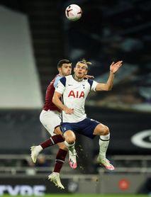 Lanzini afea el debut de Gareth Bale