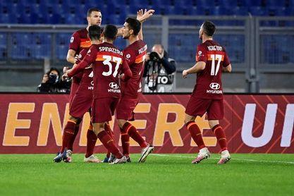 Pedro, Dzeko y una maravilla de Carles Pérez lanzan al Roma
