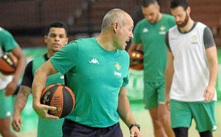 Curro Segura, durante un entrenamiento reciente.